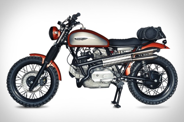 Analog Motorcycles Ducati Super Scrambler