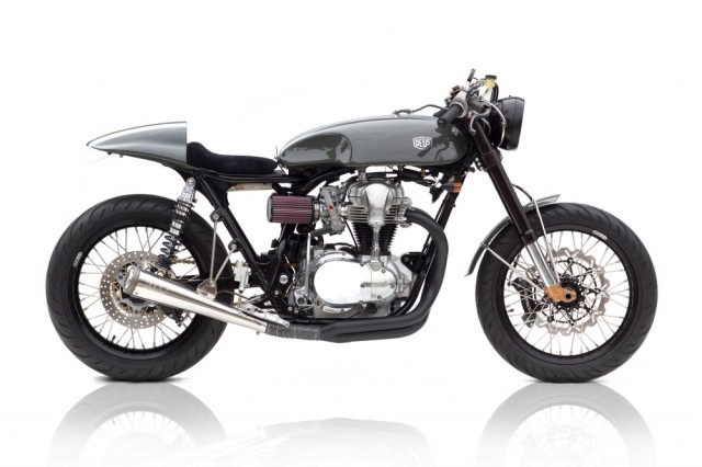 DEUS Customs Moto Grigio