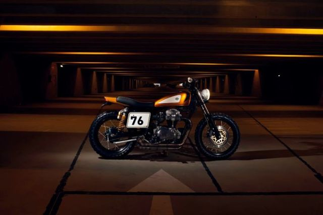 Ton Up Garage Gold Digger Kawasaki W650 II