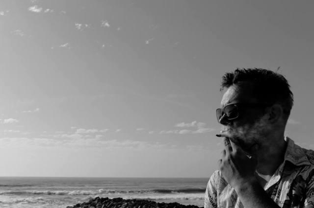 Arthur Heisler beim Wheels & Waves; Foto: Jo Fischer
