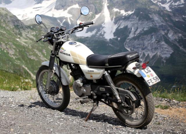 Honda CL250 Scrambler