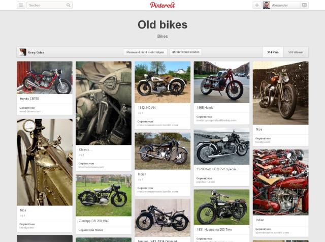 Old bikes auf Pinterest