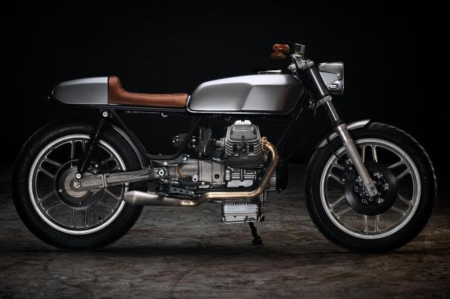 Moto Guzzi V50 Monza von Revival Cycles