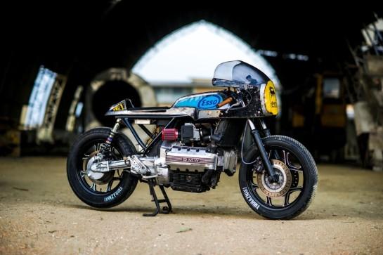 BMW K100 Café Racer von Vibrazioni Art Design
