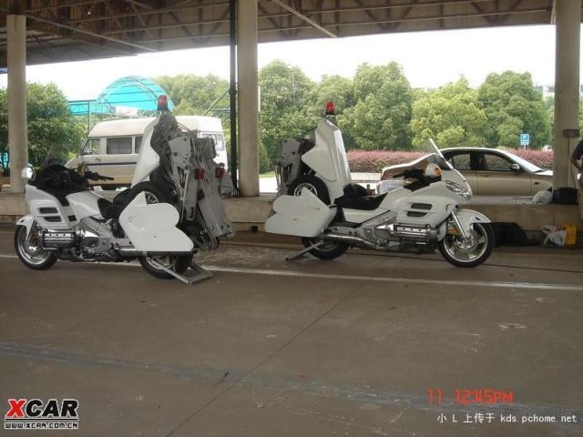Honda Abschleppmotorrad II