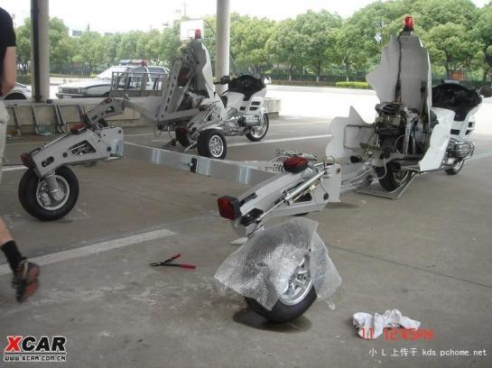 Honda Abschleppmotorrad III