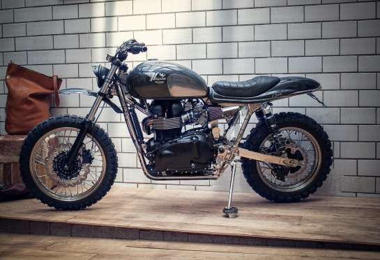 Kingston Triumph Scrambler 900 il Sardo