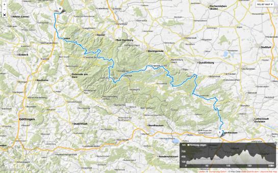 Tourplanung Harz