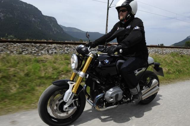 BMW Motorrad Days 2014: Testfahrt mit der R nineT, Foto: http://petermusch.com/