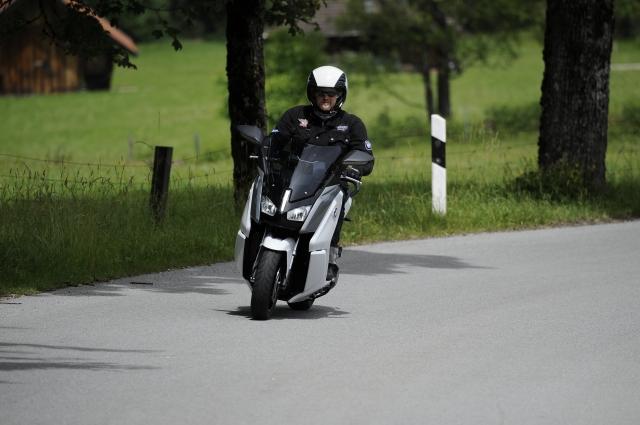 BMW Motorrad Days 2014: Testfahrt mit der C Evolution, Foto: http://petermusch.com/