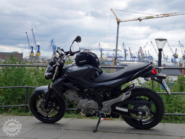 Suzuki-Gladius-Seitenansicht