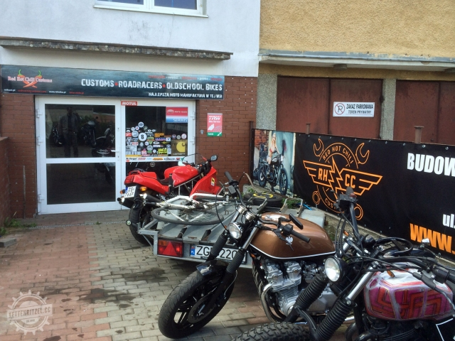 Besuch bei Red Hot Chili Customs