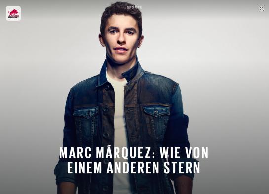 Marc Marquez  Das MotoGP Genie   The Red Bulletin