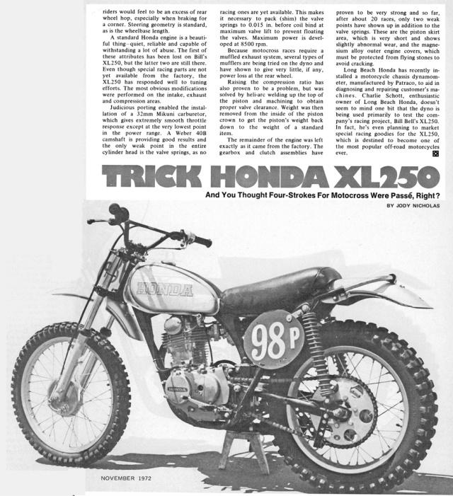 honda-xl250-Anzeige