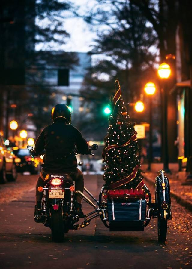 Motorradweihnachten