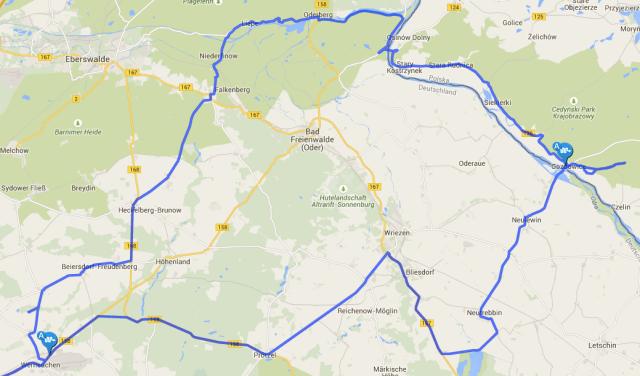 Strecke-Motorradtour-Schorfheide-und-Westpommern
