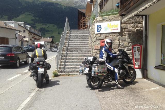 KRCC_Alpenblitz2016_Motorradtausch_R1200GS_S1000RR
